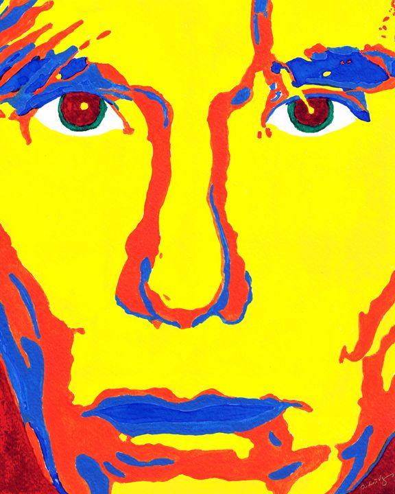 Warhol Face - Art by Pedro I. Vargas