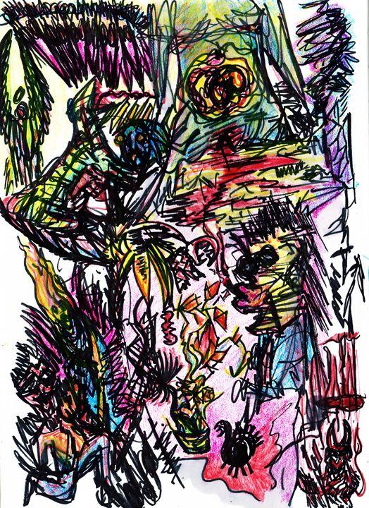 Color Doodle - Art by Pedro I. Vargas