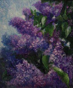 Beautiful Lilac flowers - Art Device
