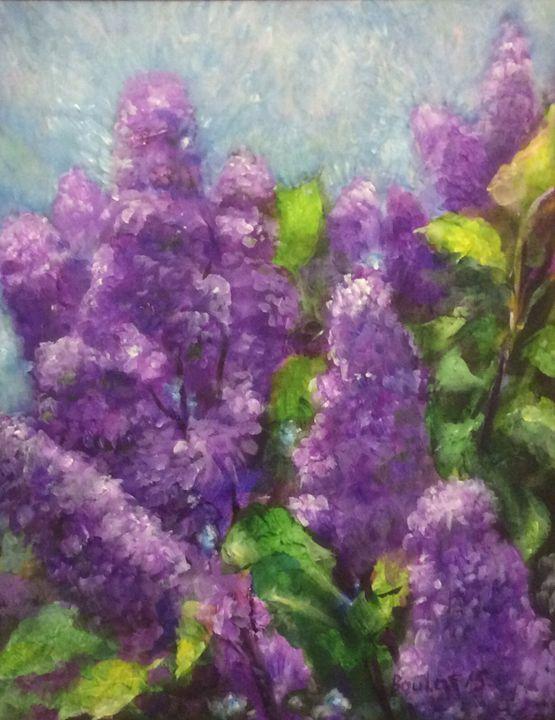Beautiful summer lilac - Art Device