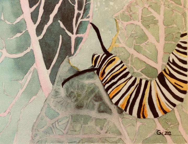 Caterpillar - ArtbyChristina