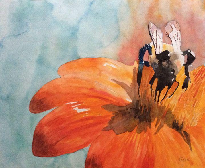 Save the Bees - ArtbyChristina