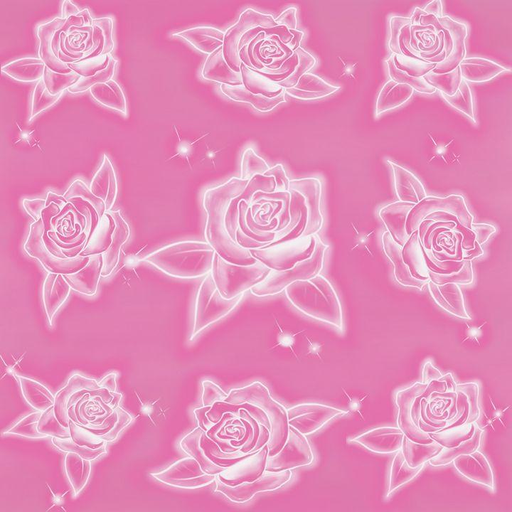 PinkRoses - Hi-PRESS illustrations