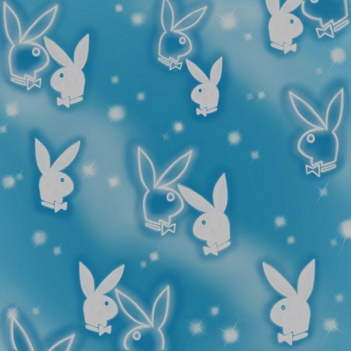 PlayboyBunnyBabyBlue - Hi-PRESS illustrations
