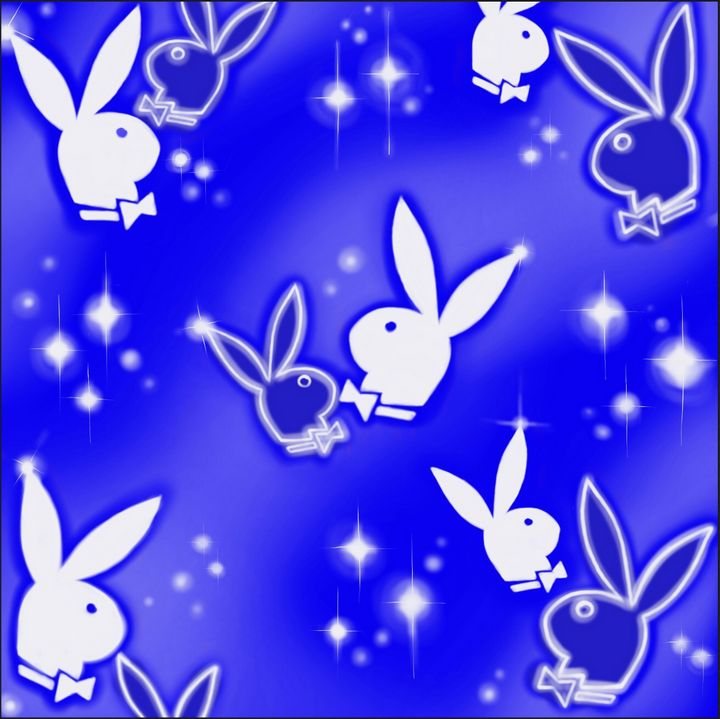 PlayboyBunnyRoyalBlue - Hi-PRESS illustrations