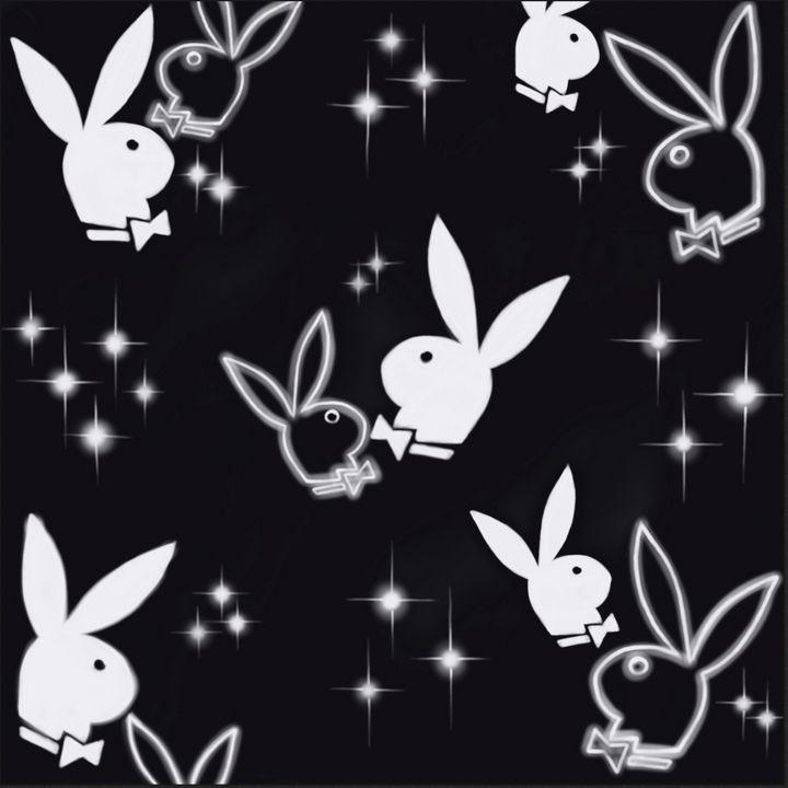 PlayboyBunnyBlack - Hi-PRESS illustrations