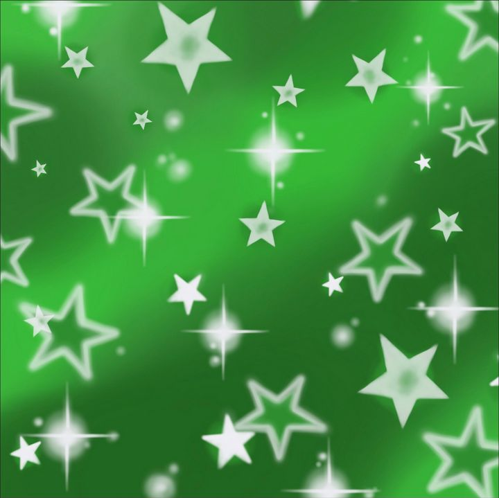 StarsGreen - Hi-PRESS illustrations