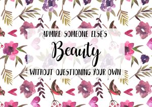 Floral Quote Print