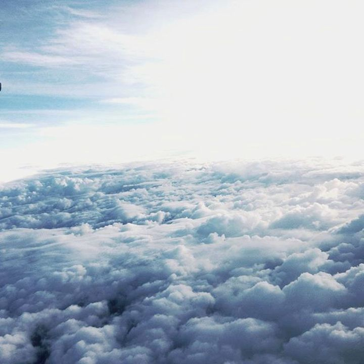 "Photograph ""above the clouds"" - Cosmic Creations"