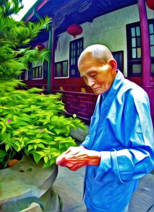 Tea Monk - Larry Mulvehill