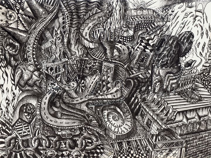Roads - Eccentric Surreal Universe - Dave Trzebinski