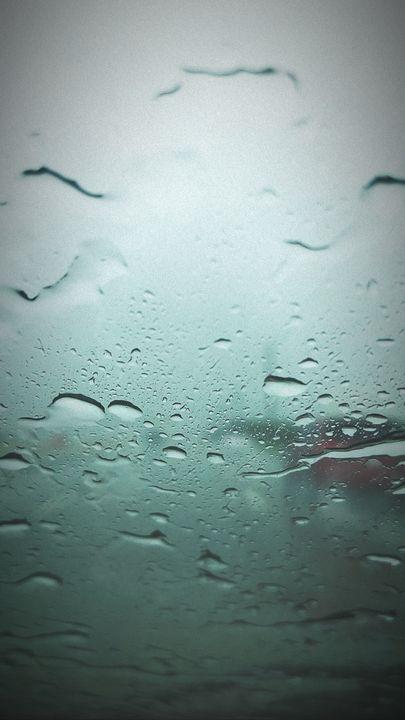 Rainy Blur by Nettie M - BlazingBlu Arts & Photography