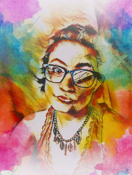 Colors of the MindFog - BlazingBlu Arts & Photography