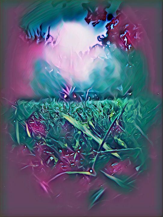 Midnight Moonlit Air - BlazingBlu Arts & Photography