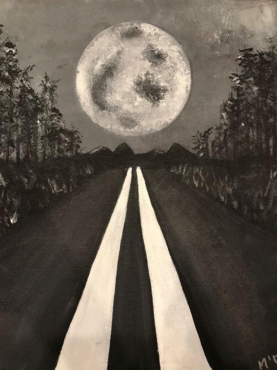 The Long Road Home - Velvet Moon Gallery