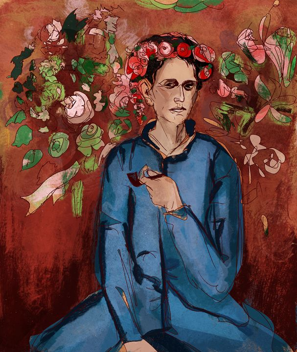 Young Man with a Pipe (Picasso) - Pierre Kant