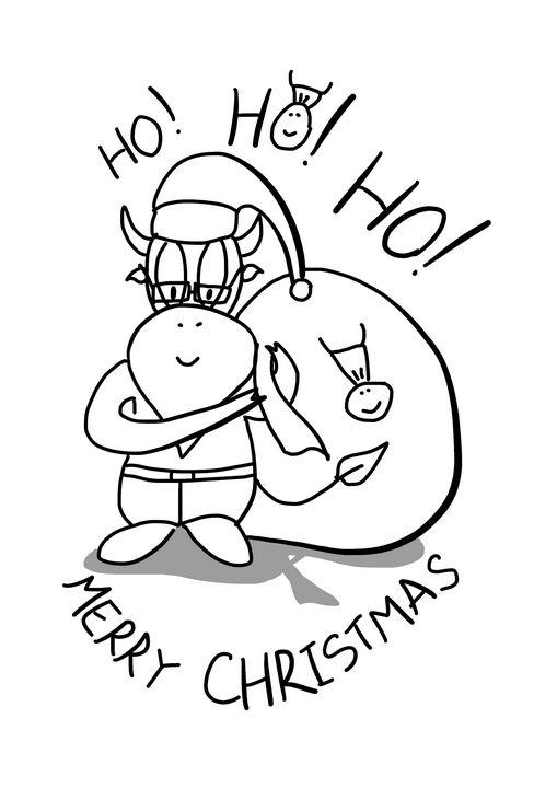 Ho! Ho! Ho! Merry Christmas - YSKaw