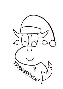 Transparent Cow
