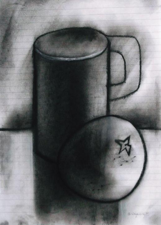 mug and orange - woz