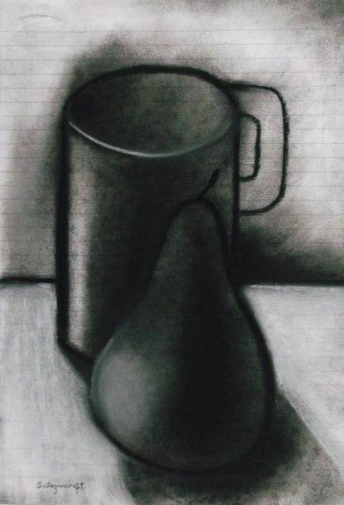 mug and pear - woz