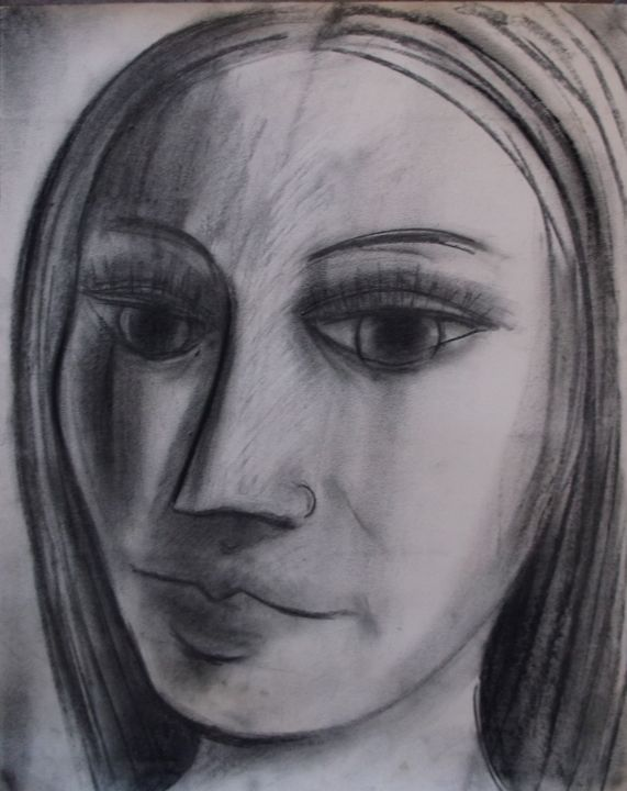 head of a woman - woz
