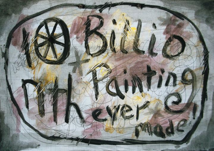 10 BILLIONTH PAINTING EVER MADE - woz