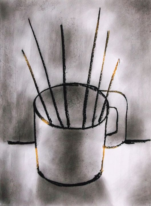 brushes in mug - woz