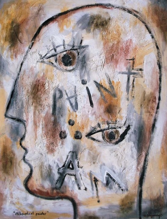 philosophical painter - woz
