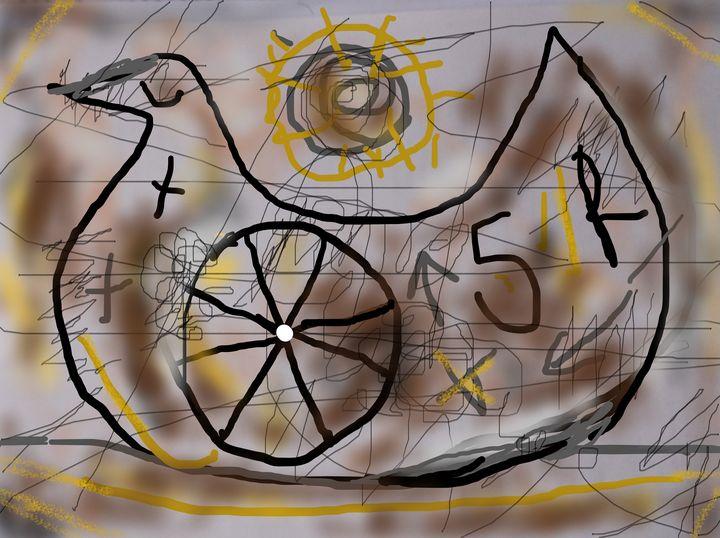 a wheel bird - woz