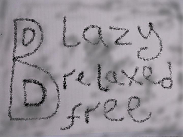 B lazy B relaxed B free - woz