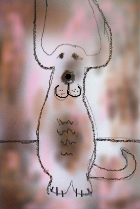 listening dog - woz