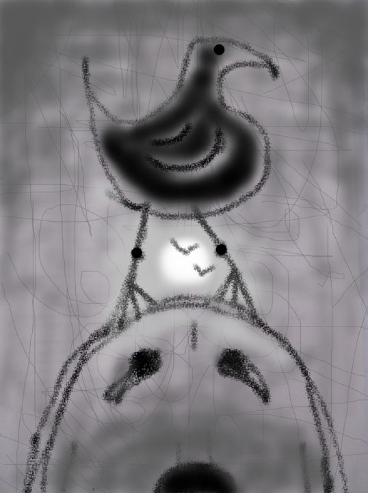 dog bird moon - woz