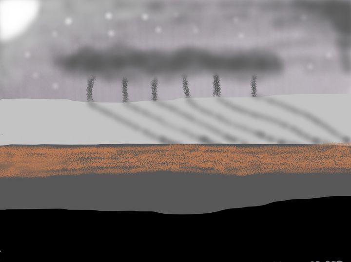 nocturnal landscape - woz