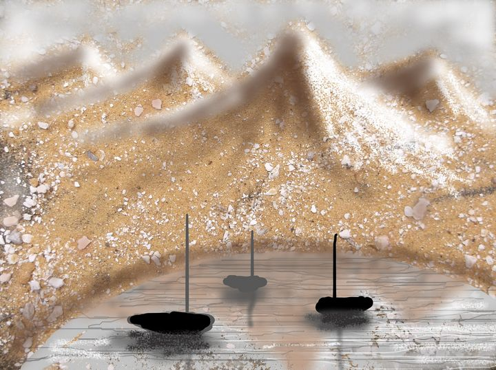 boats cove mountains - woz