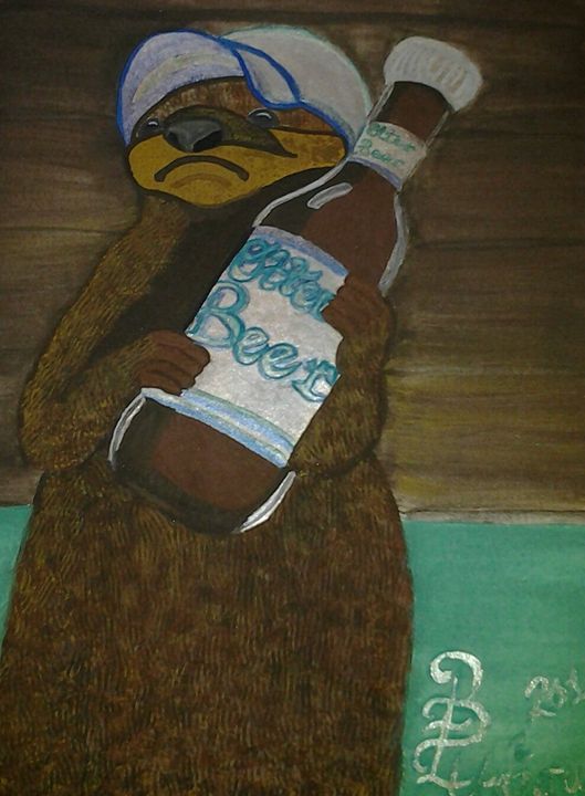 """Otter """"Grabbing a cold one."""" - BE Unique By Bonnie"""