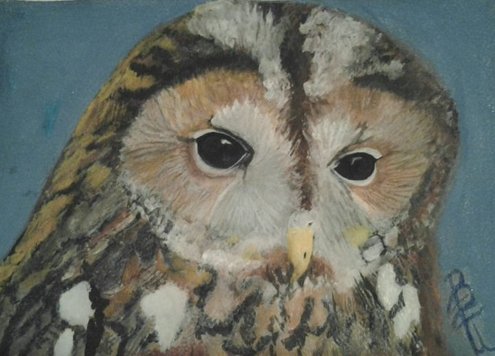 Owl for my mom - BE Unique By Bonnie
