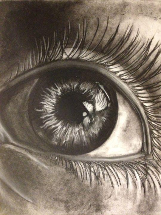 Charcoal Eye - sshelbia