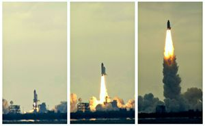 Space Shuttle Atlanta Launch