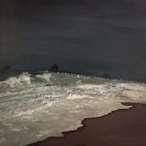 An Angry Day at the Beach