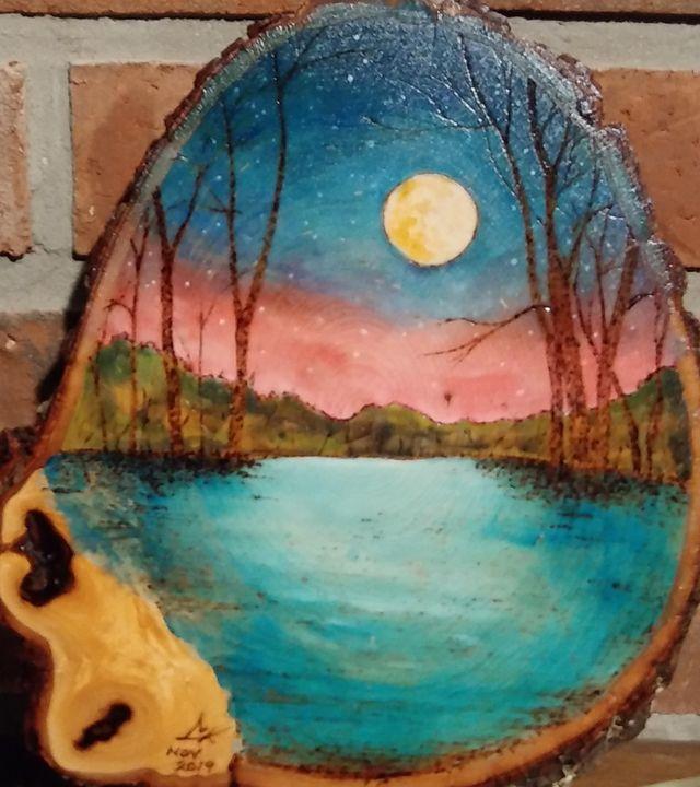 Enchanted Moonlight Woodlands - Chris Katt