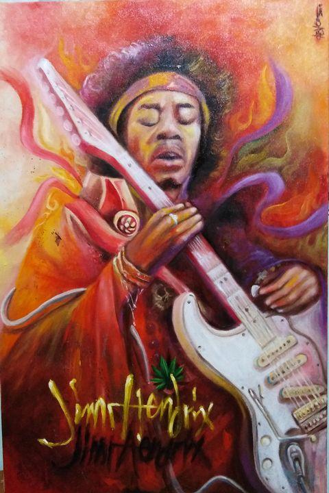 Jimi soul electric hendrix -  Chriscabuco