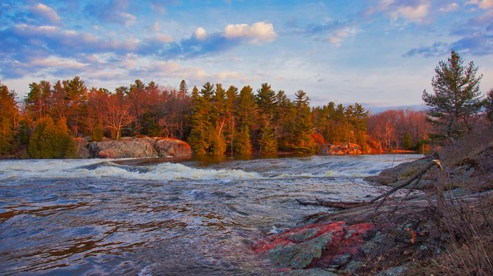 Mississaugi Falls - Sky North Photography