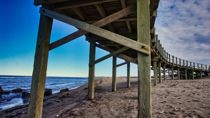 Under the Boardwalk - Sky North Photography
