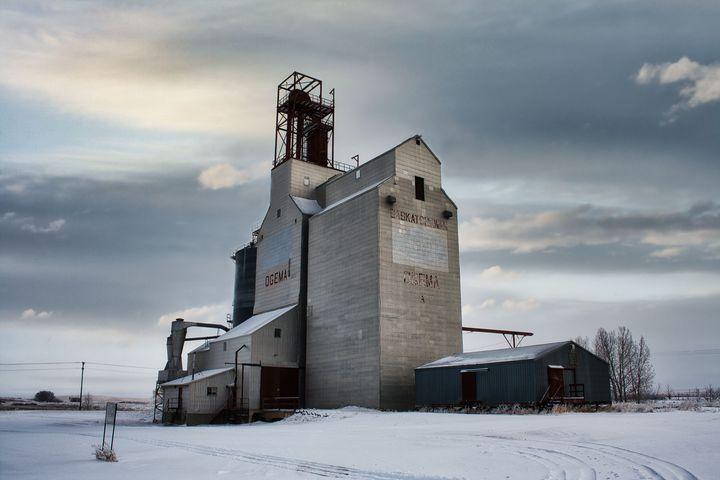 The Ogema Elevator - Sky North Photography