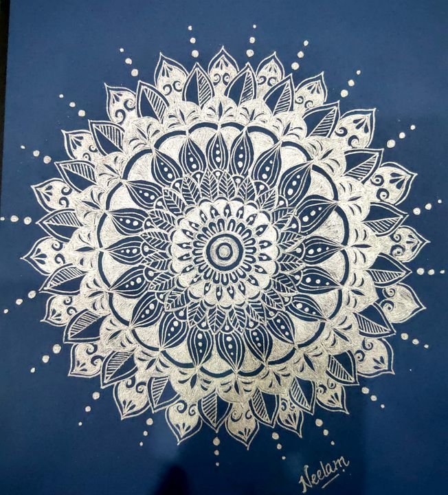 Mandala 3 - NEELAM ART GALLERY