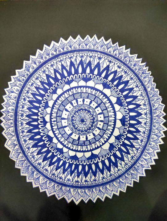 Mandala 1 - NEELAM ART GALLERY