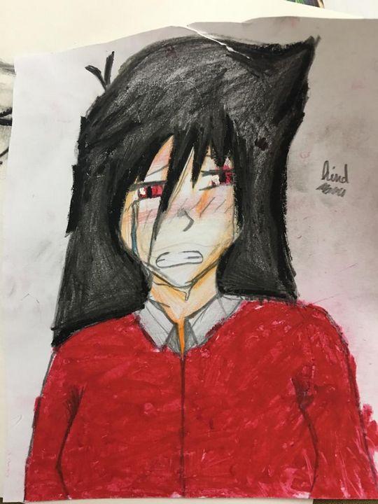 Sad girl - Hind Emada
