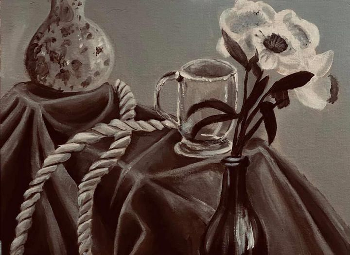 Flowers and Fabric - Emily M