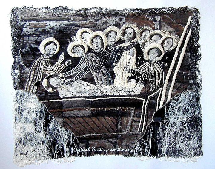 Saving to the Grave, 50x60 cm - Iveta Mihalikova