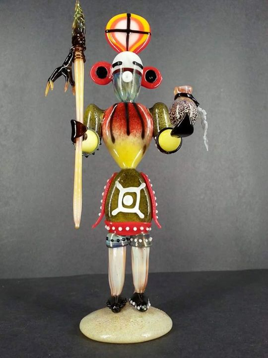 spanish inquisition doll - sacred sands glass